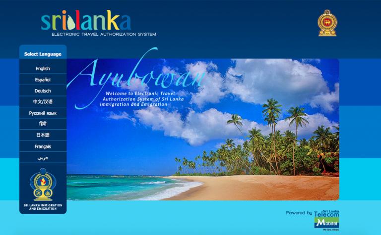 Conseguir el visado para Sri Lanka