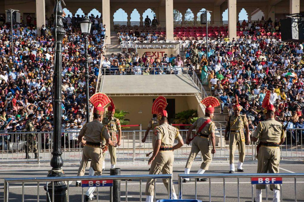 Frontera con Pakistan en Amritsar
