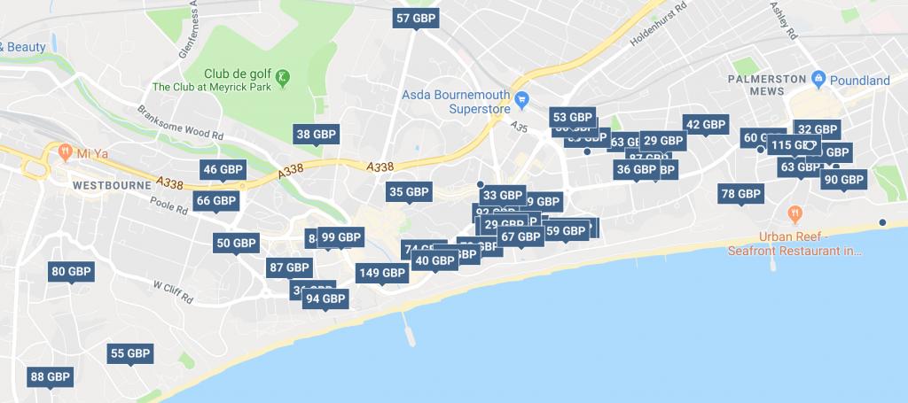 Trabajo en Bournemouth