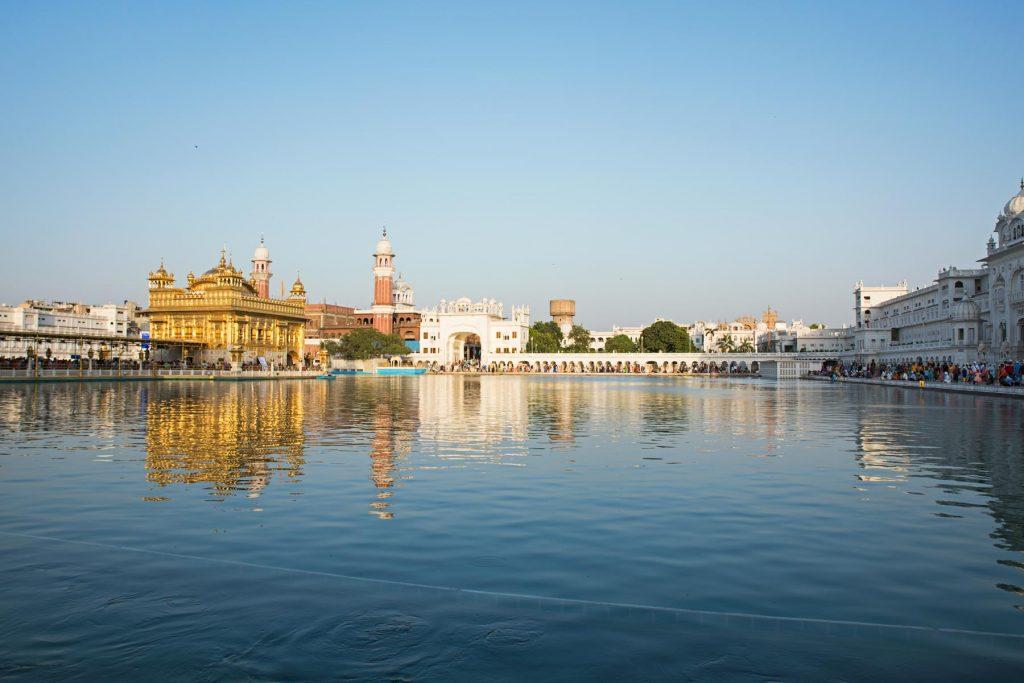 Increible en Amritsar golden temple